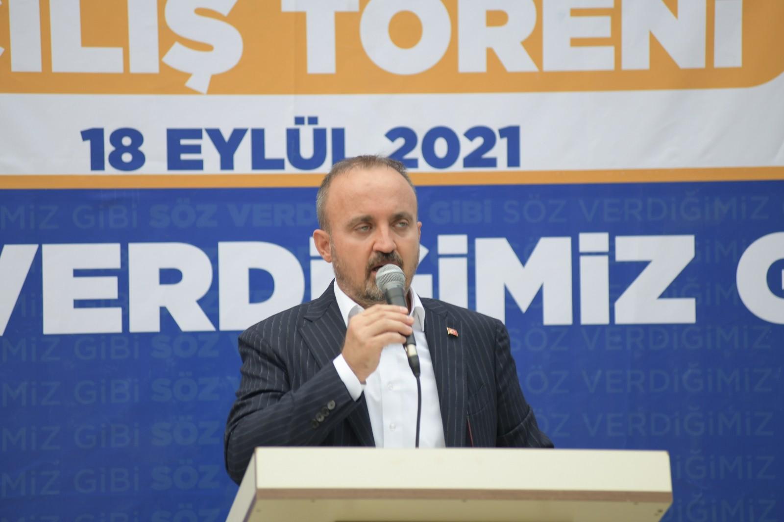 """AK Parti'li Turan: """"AB, savunduğu değerleri kağıt üzerinde bırakmamalı artık"""""""