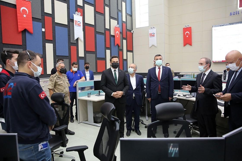 Bayburt'ta Acil Çağrı Hizmetleri İl Koordinasyon Komisyonu Toplantısı yapıldı