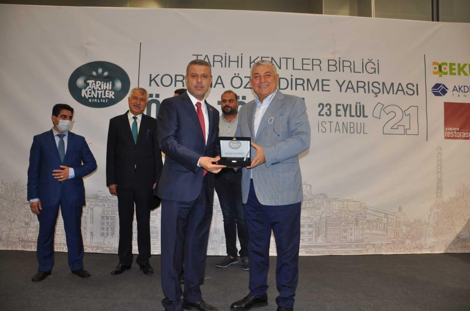 Boyabat'a Tarihi Kentler Birliği'nden 4 yılda 4 ödül