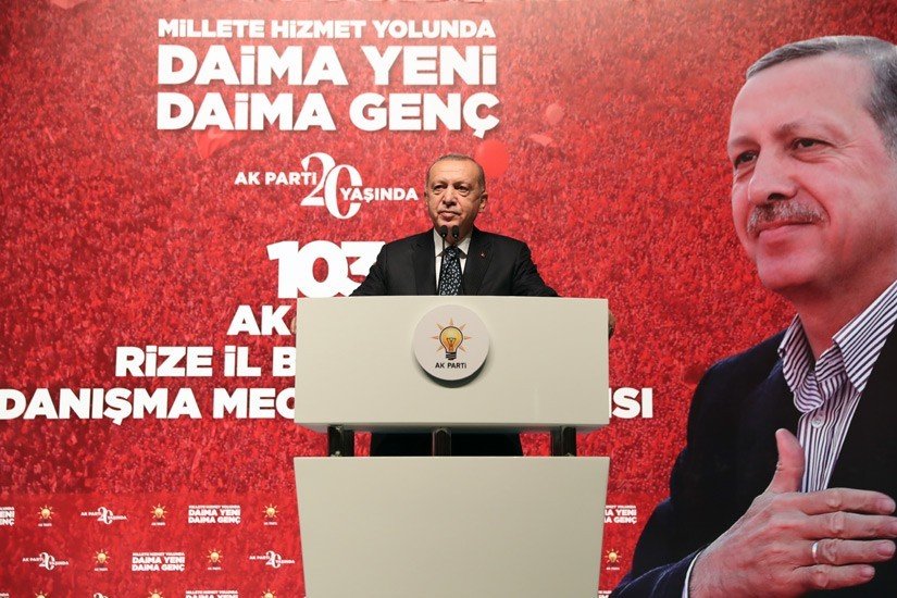"""Cumhurbaşkanı Erdoğan: """"Meral hanım sen bu geziciler ile berabersin yolun açık olsun"""""""