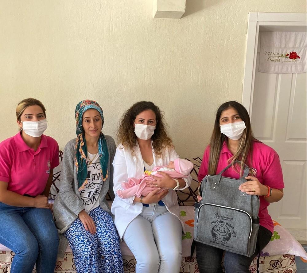 Germencik Belediyesi 'Hoş Geldin Bebek' projesi başlattı