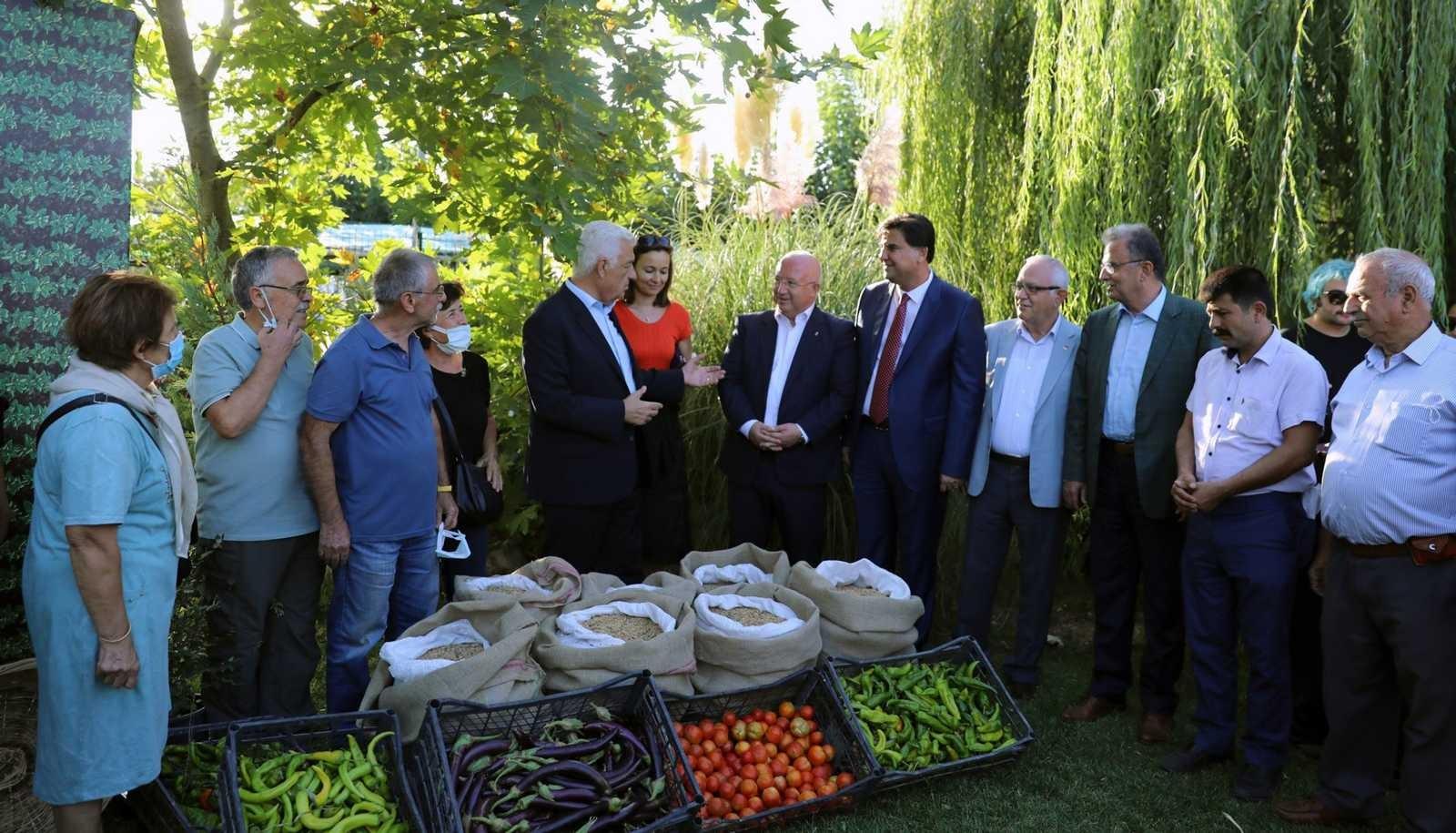 Menteşe'de hasat şenliği