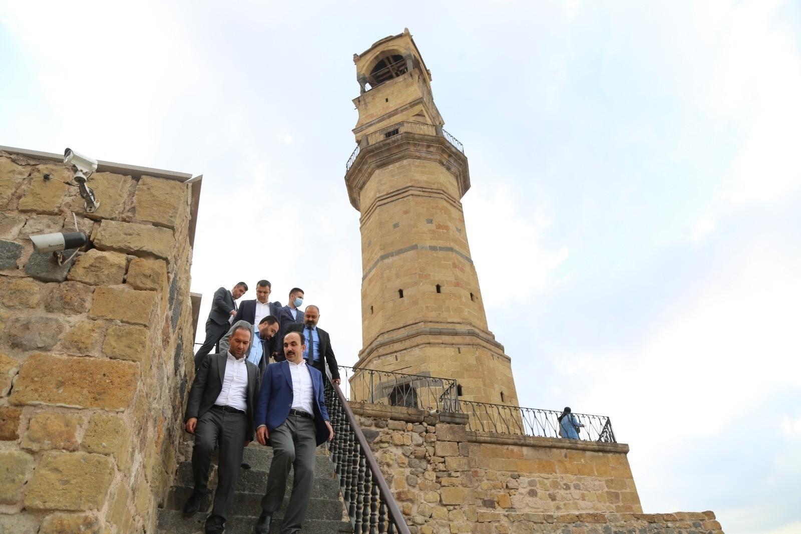 Niğde Başkan Özdemir Konya Büyükşehir Belediye Başkanı Altay'ı ağırladı