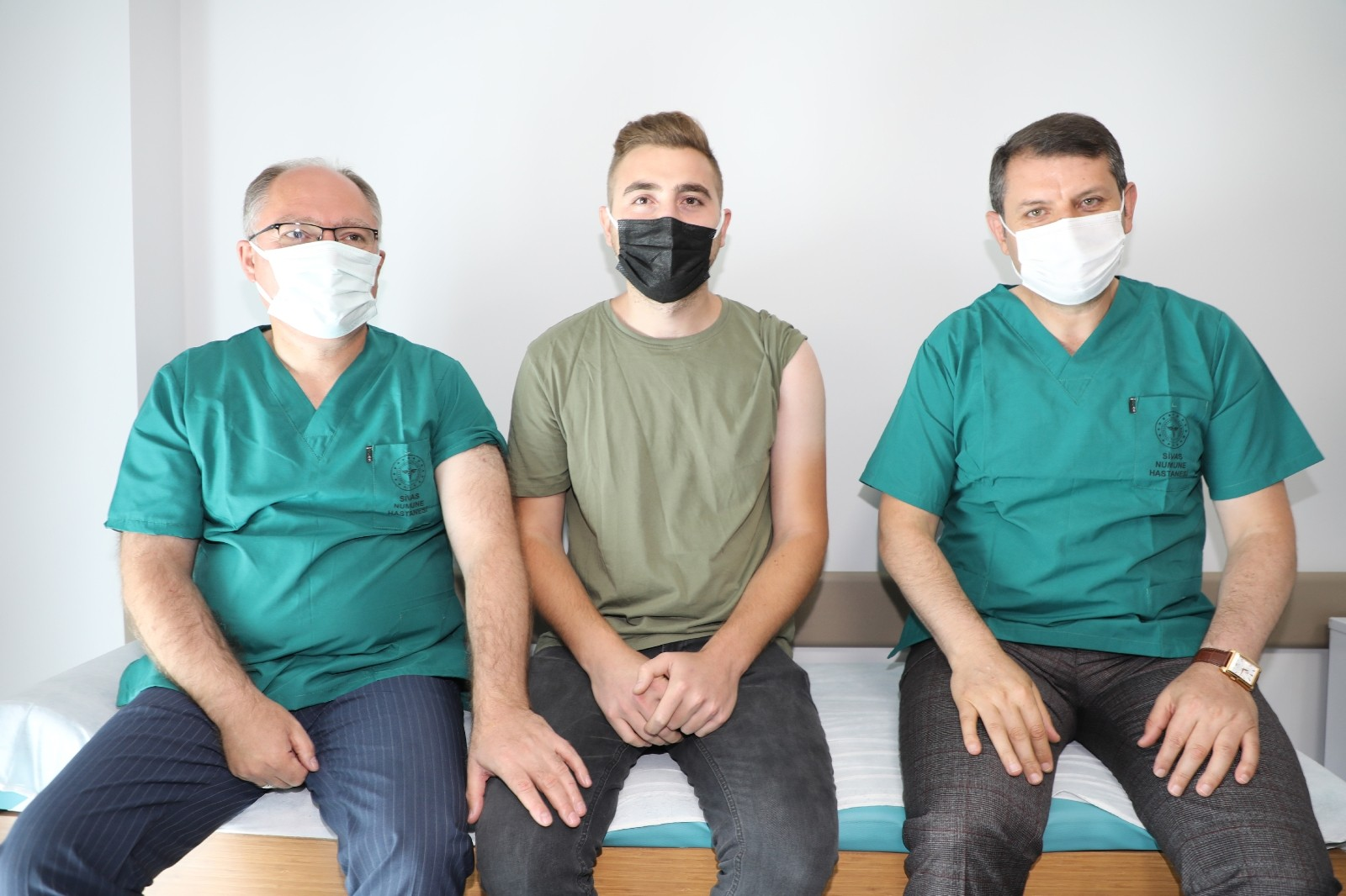 Sivas'ta 800 bin doz aşı uygulandı