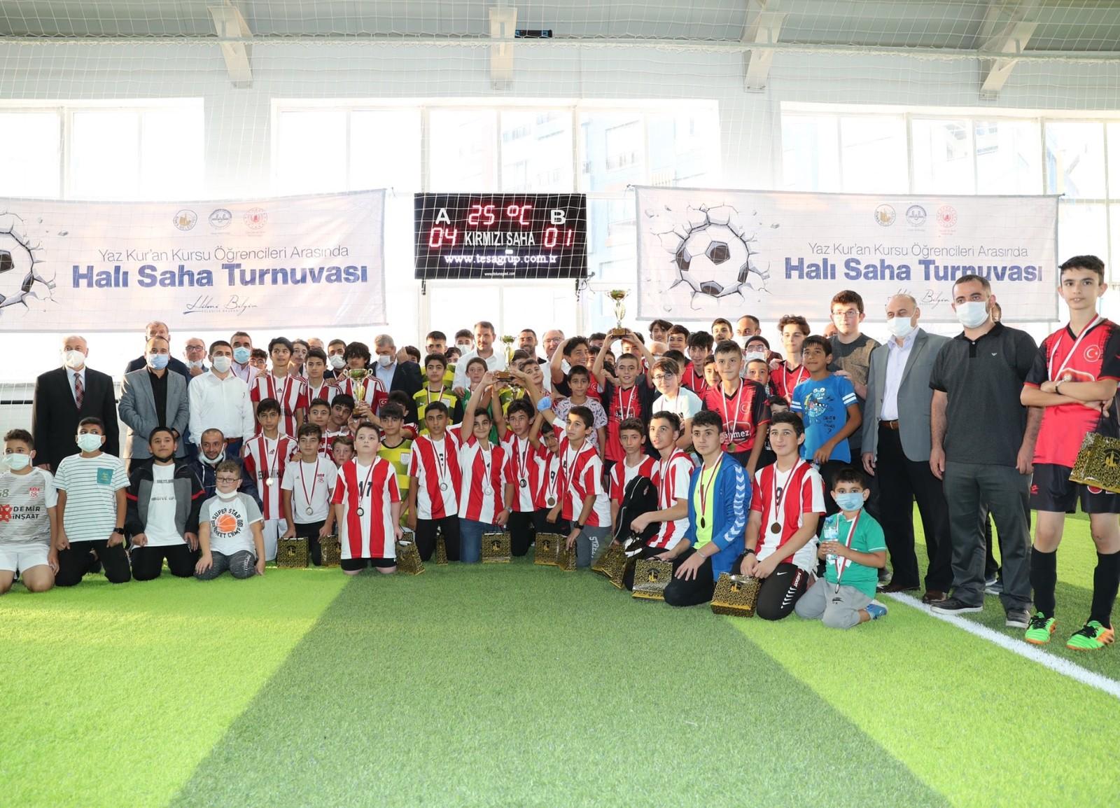 Sivas'ta düzenlenen futbol turnuvasında şampiyon belli oldu