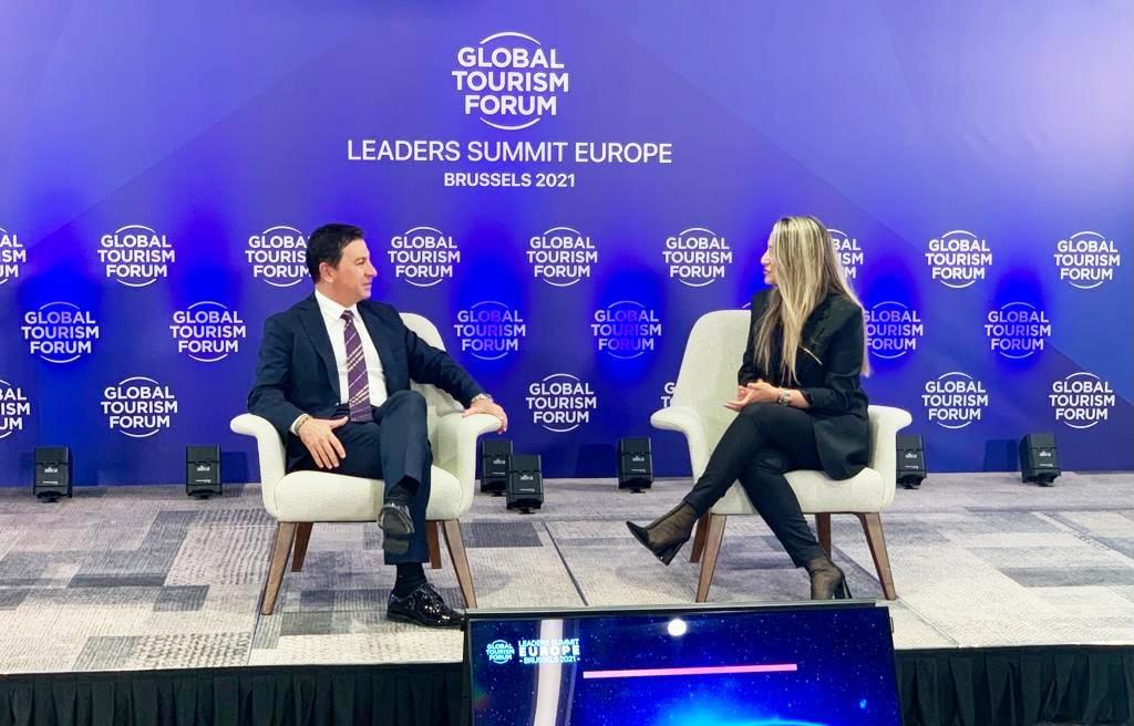 Ahmet Aras Global turizm Formunda Türkiye'yi temsil ediyor