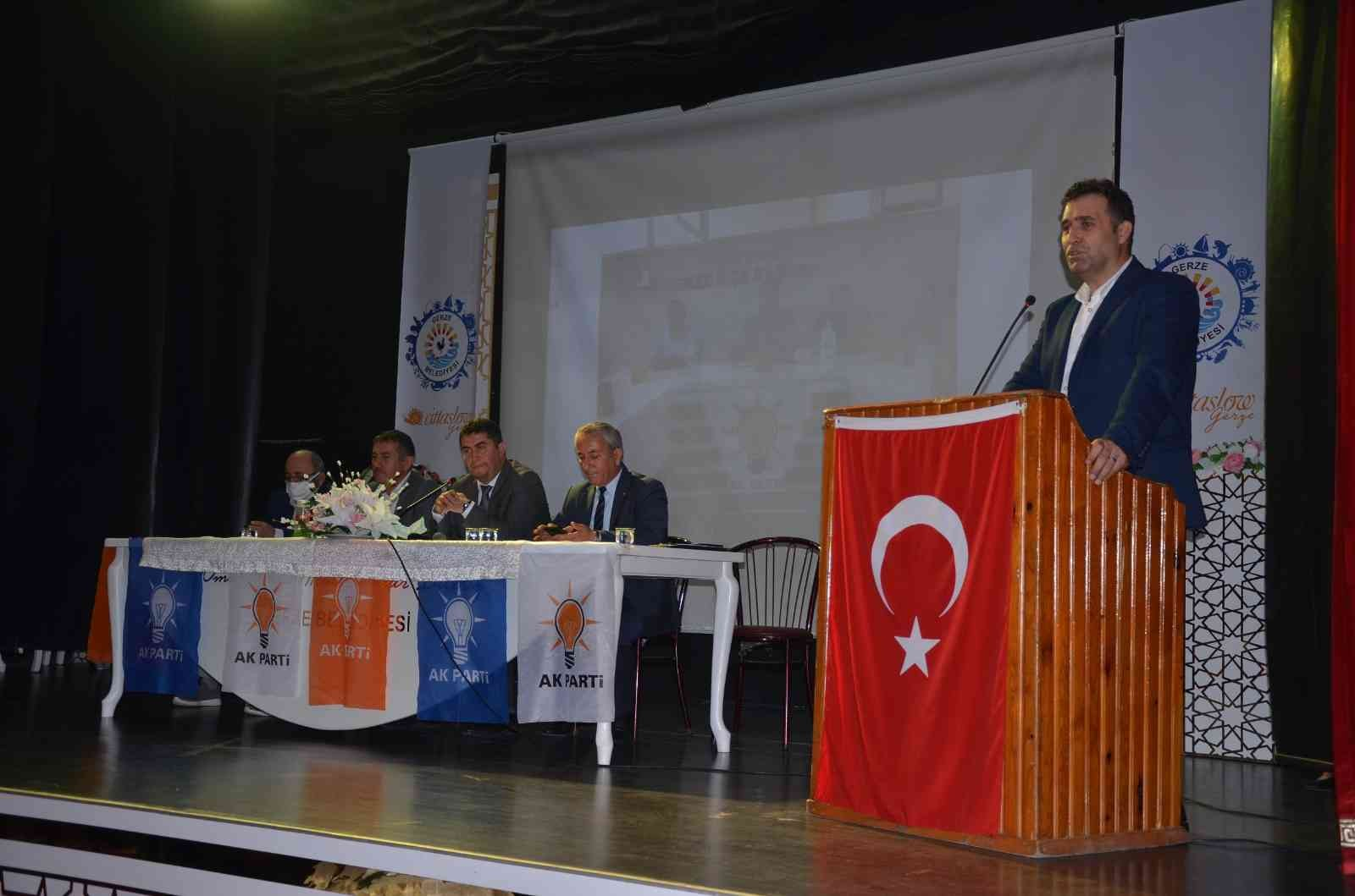 AK Parti Gerze İlçe Danışma Meclisi Toplantısı