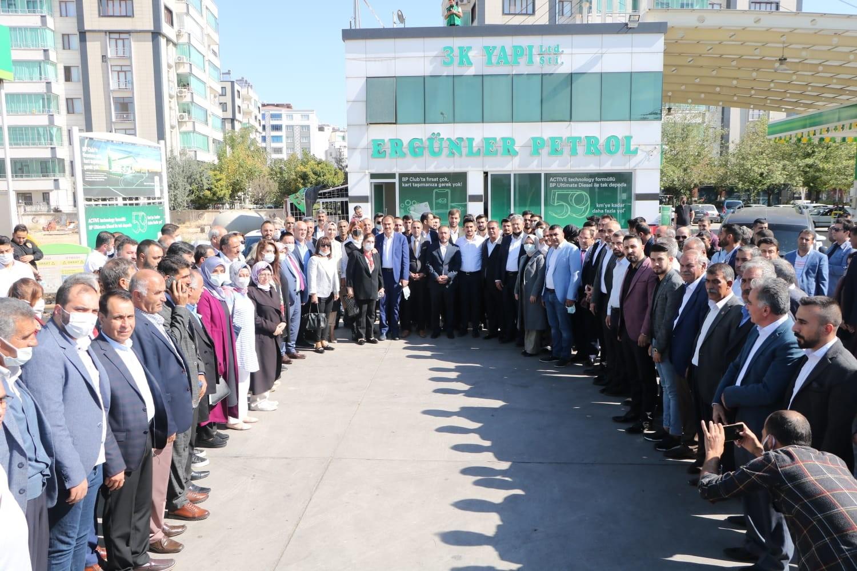 AK Parti'nin gönül köprüsü Ergani'de