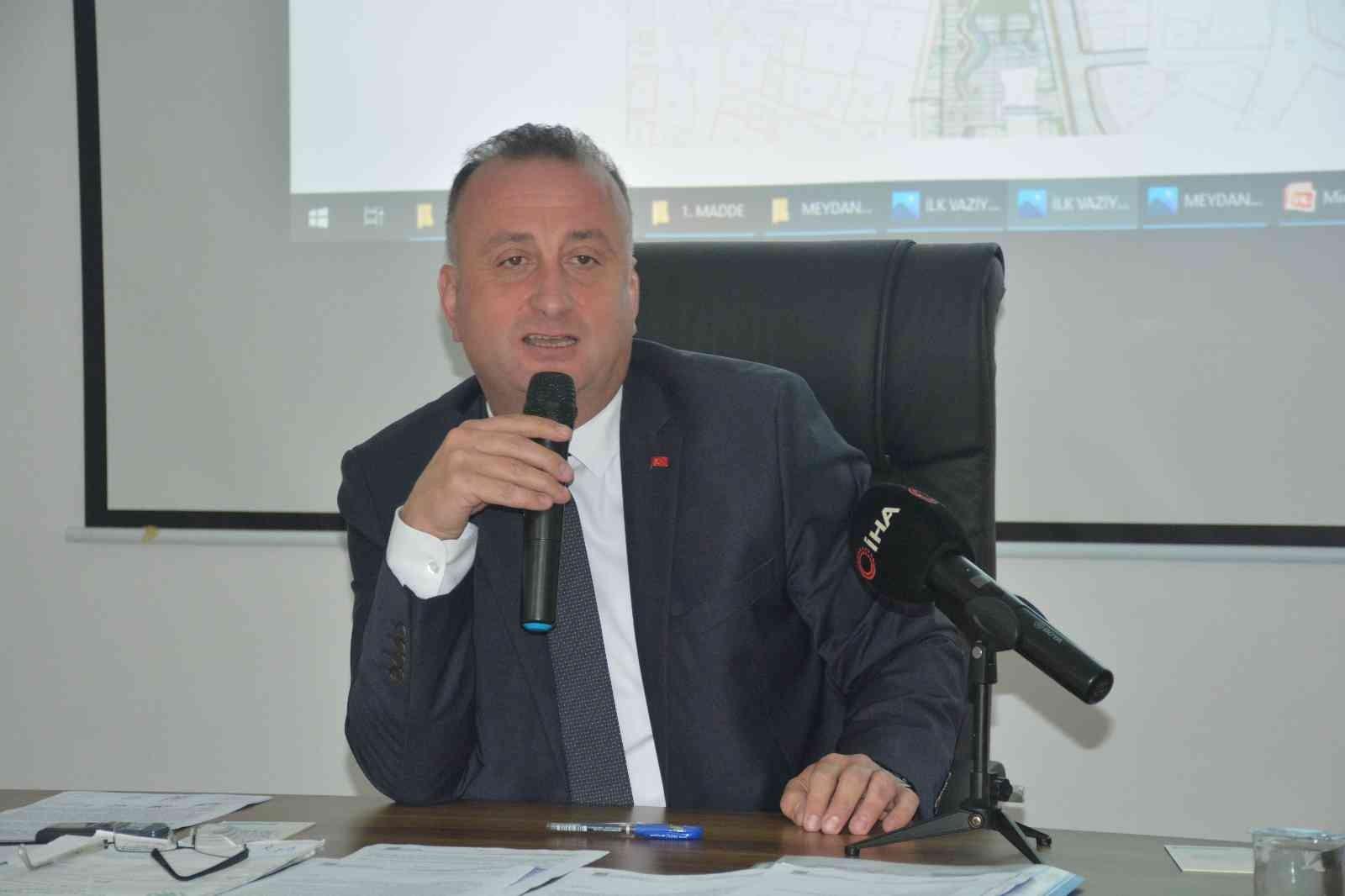"""Başkan Ayhan: """"Kent Meydanını Sinop halkının hizmetine hep beraber sunacağız"""""""