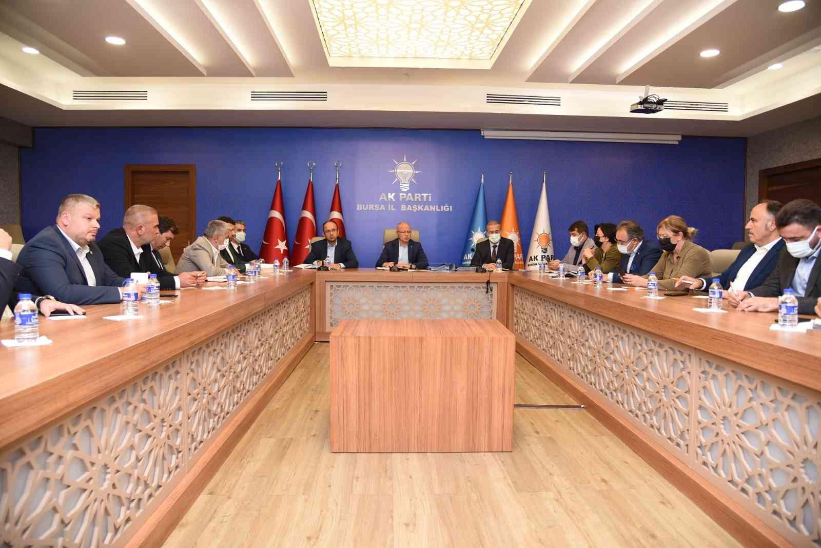 """Başkan Davut Gürkan: """"Gücümüzü Bursa'nın güveninden alıyoruz"""""""