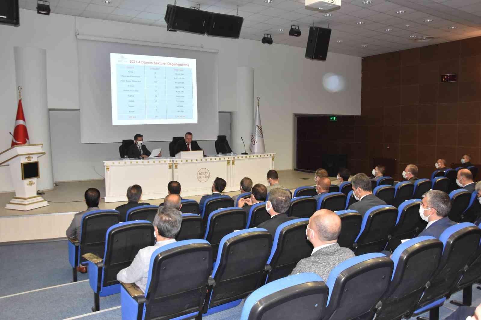 Bitlis'te 'İl Koordinasyon Kurulu Toplantısı' yapıldı