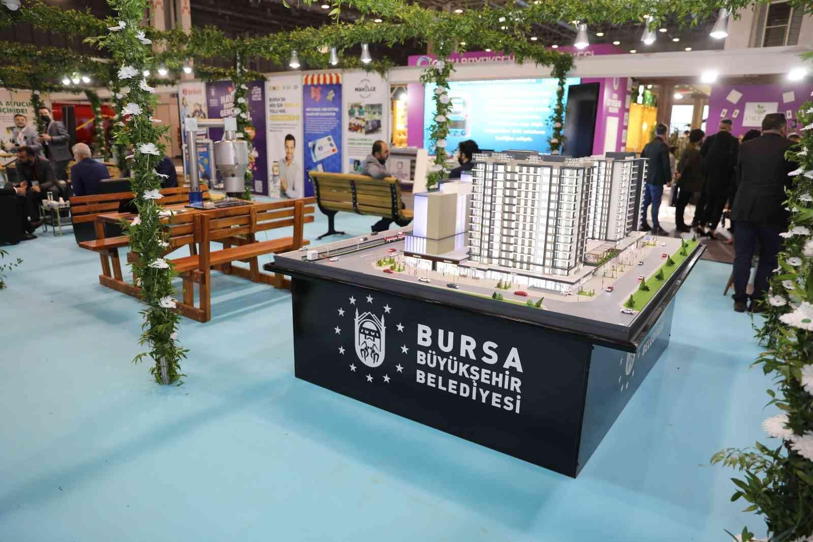 Bursa'nın akıllı yatırımları Gaziantep'te vitrine çıktı