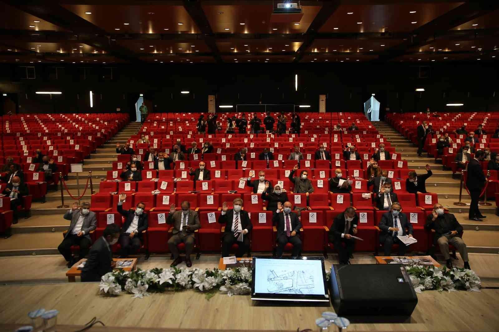 Büyükşehir, Ekim ayı Meclis Toplantısı'nı gerçekleştirdi