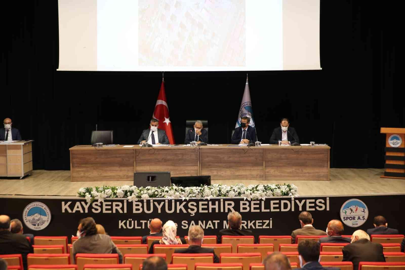 Büyükşehir, Ekim Ayı Meclis Toplantısını gerçekleştirdi