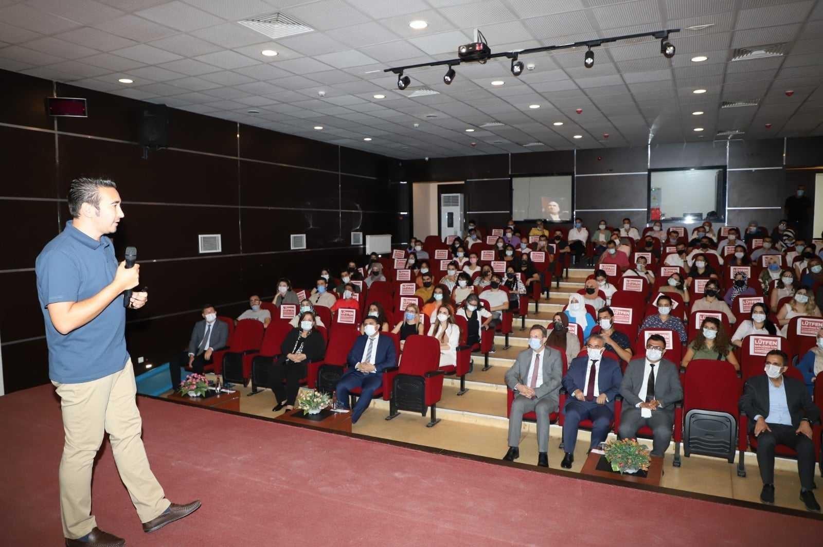Cizre'ye yeni atanan öğretmenler ile söyleşi programı düzenlendi