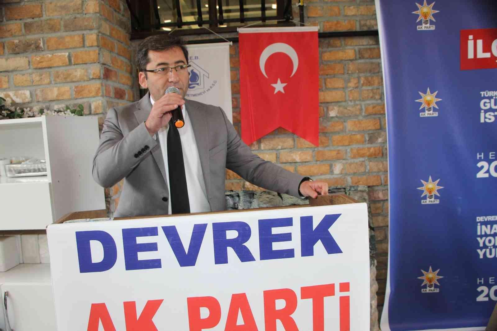Devrek AK Parti Teşkilatından İlçe Danışma Meclisi Toplantısı