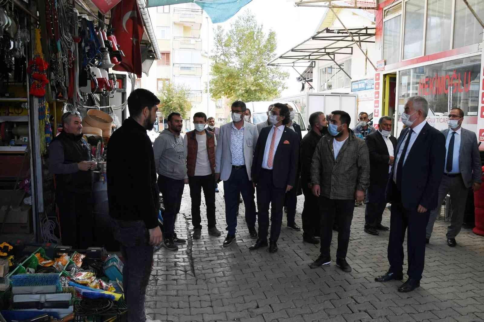 Isparta'da köy garajı ve çarşamba pazarı yenileniyor