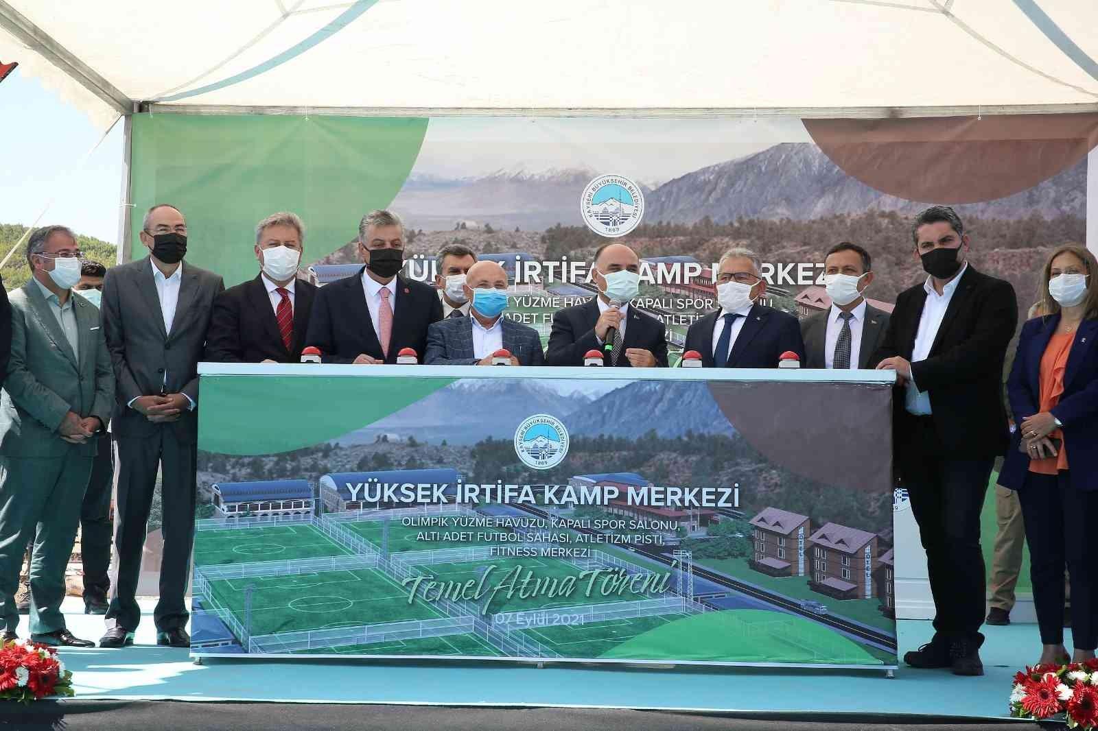 Kayseri Büyükşehir Belediyesi'nden 1 ayda 8 temel atma 4 açılış
