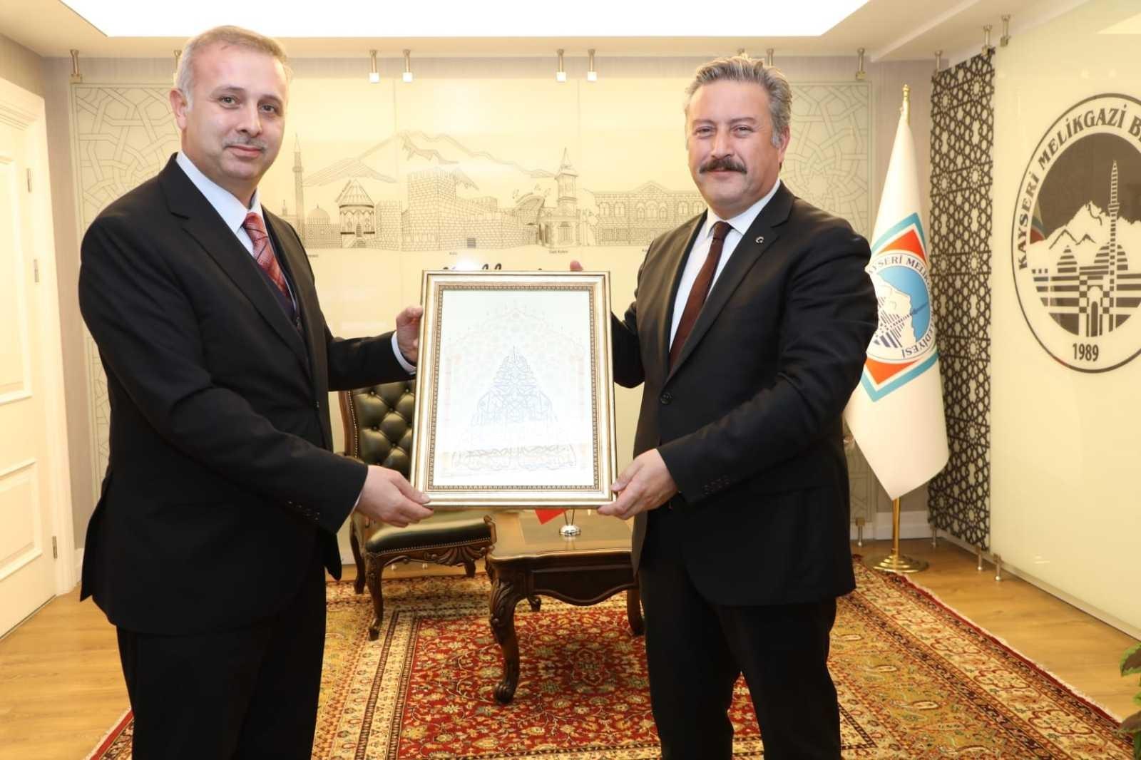 Melikgazi İlçe Müftülüğü'nden Başkan Palancıoğlu'na ziyaret
