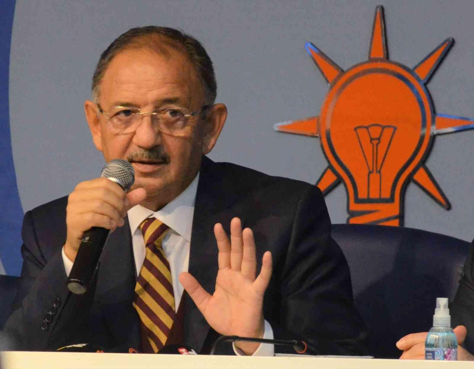 """Özhaseki: """"CHP, HDP ile olan ortaklığını 'utandığı' için söyleyemiyor"""""""