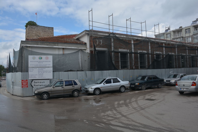 Sinop Tarihi Buzhane restore ediliyor